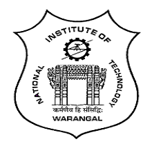 NIT Warangal FDP on OPTIMIZATION TECHNIQUES FOR ENGINEERING APPLICATIONS