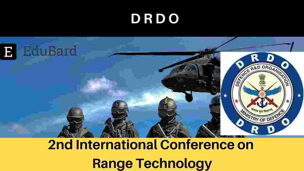 DRDO 2nd International Conference on Range Technology , IEEE ICORT 2021