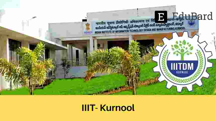 IIITDMK has invited application for the Faculty Recruitment