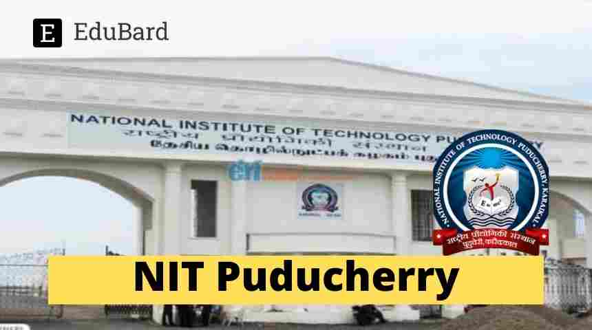 NIT Puducherry FDP Recent Research Trends in Civil Engineering