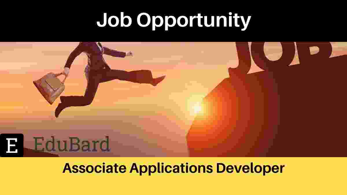 Associate Applications Developer Job opportunity at ORACLE, Apply Now