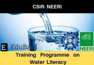 "CSIR-NEERI | Training programme on ""Water Literacy"" 