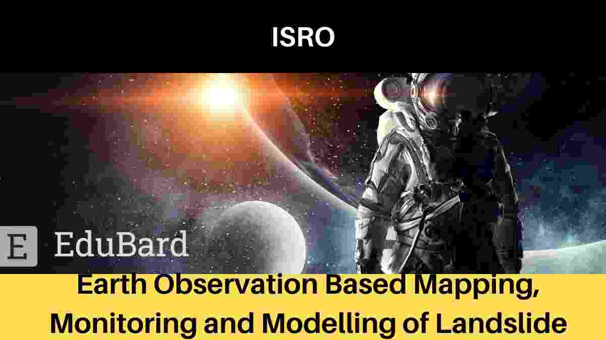 "ISRO Workshop ""Earth Observation Based Mapping, Monitoring, and Modelling of Landslide""."