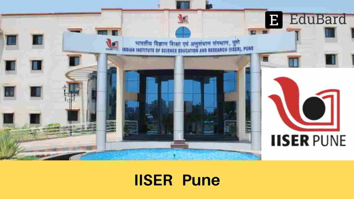 "IISER Pune FREE Webinar on ""Randomness In Biological Evolution"" on 13 May 2021"
