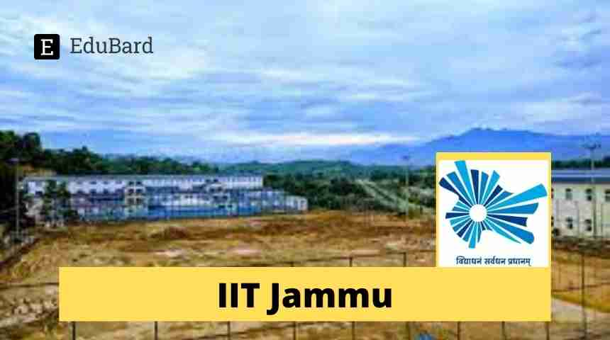 IIT Jammu- Admission to Ph.D. Programs for Academic Year (2021-22)