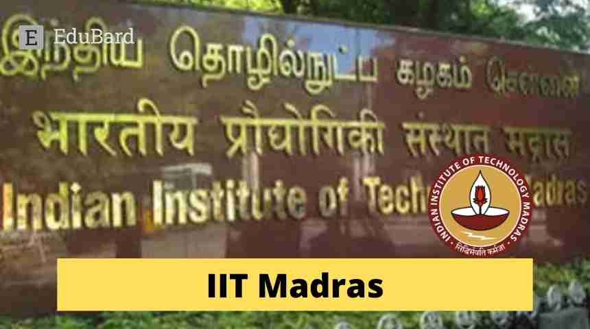 IIT Madras || Call for Papers in Field of AI/ML; Apply by May 21, 2021