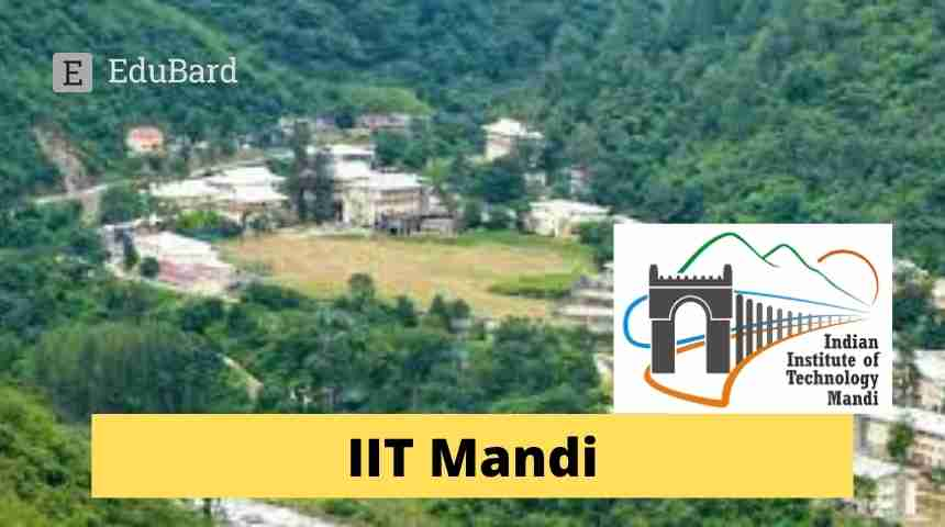 IIT Mandi Application invited for Ph D / MS (by Research) programs.