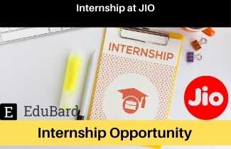 JIO  Internship Program, Apply Before the Last date, BE/ BTech / BSc Any Degree