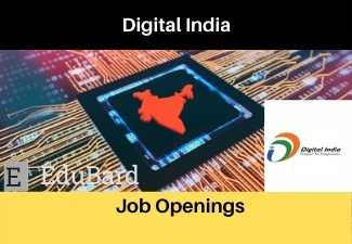 Job Openings at Digital India Corporation | Salary | Apply By 10th April 2021