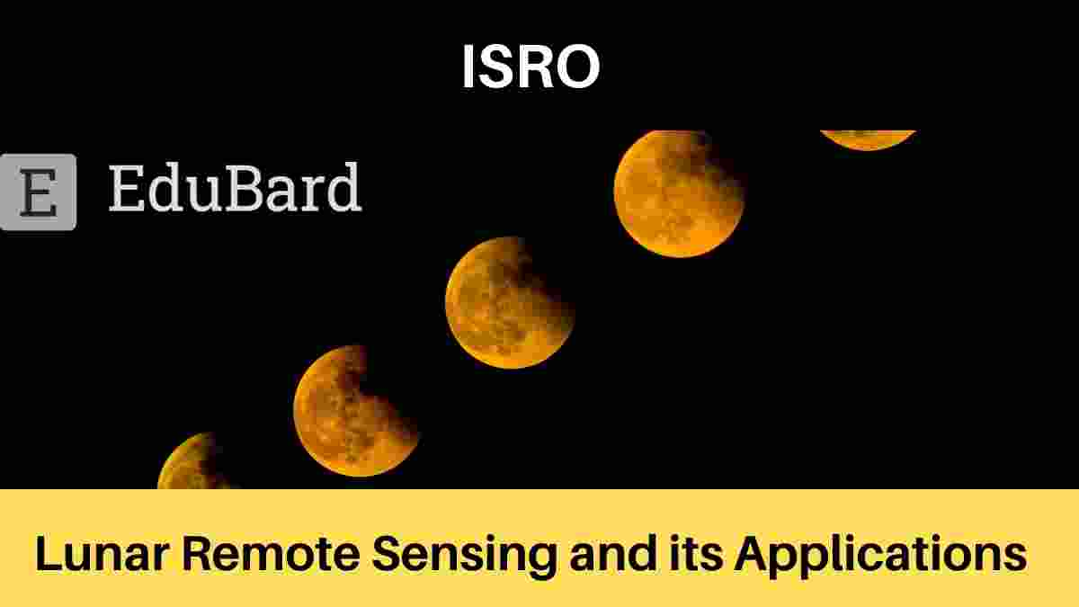 "IIRS ISRO Workshop ""Lunar Remote Sensing and its Applications"""
