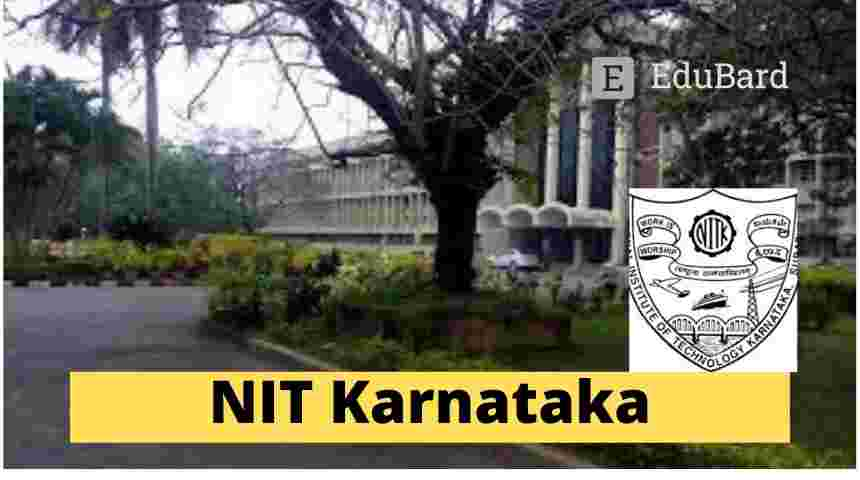 NIT Surathkal,  Application for Research Internship Position