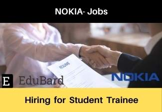 Summer Internship Student Trainee at NOKIA | Salary | Apply Before the Last Date