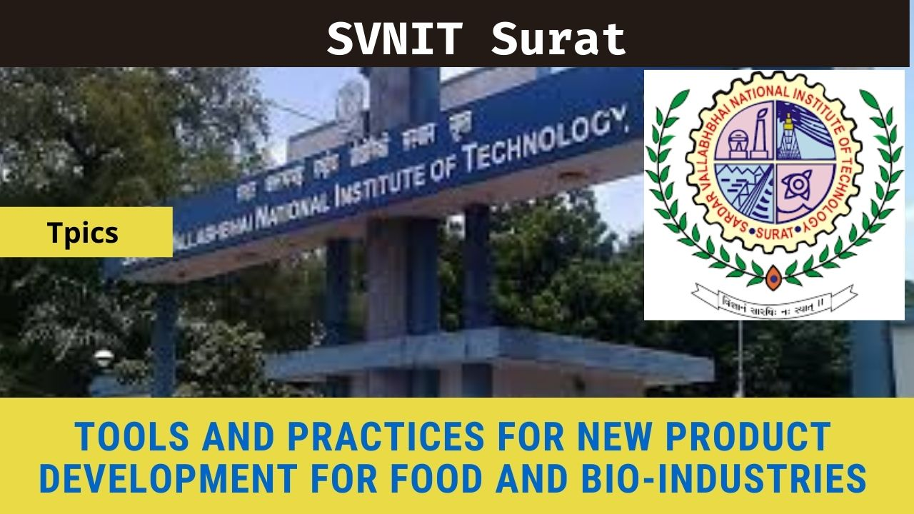 SVNIT Surat Advanced Analytical Techniques in Chemistry (AATC-2020)-26th October 2020