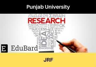 Punjab University, JRF Applications