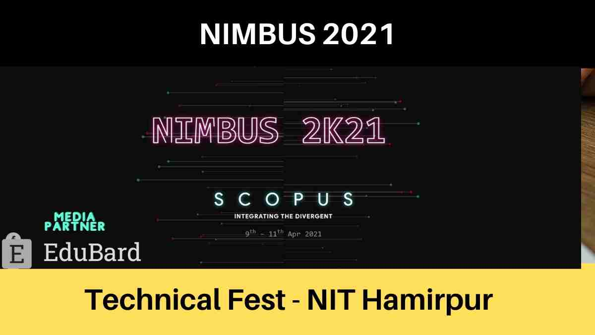NIMBUS 2021 | Technical fest of NIT Hamirpur