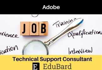 Job Opportunity: Technical Support Consultant at Adobe [Apply Now]
