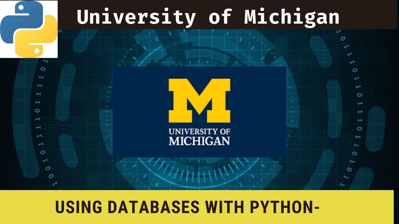 Using Databases with Python-University of Michigan