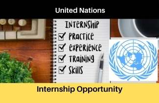 United Nations Remote Internship Assignment , Apply Before the Last date